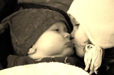 baby sepia
