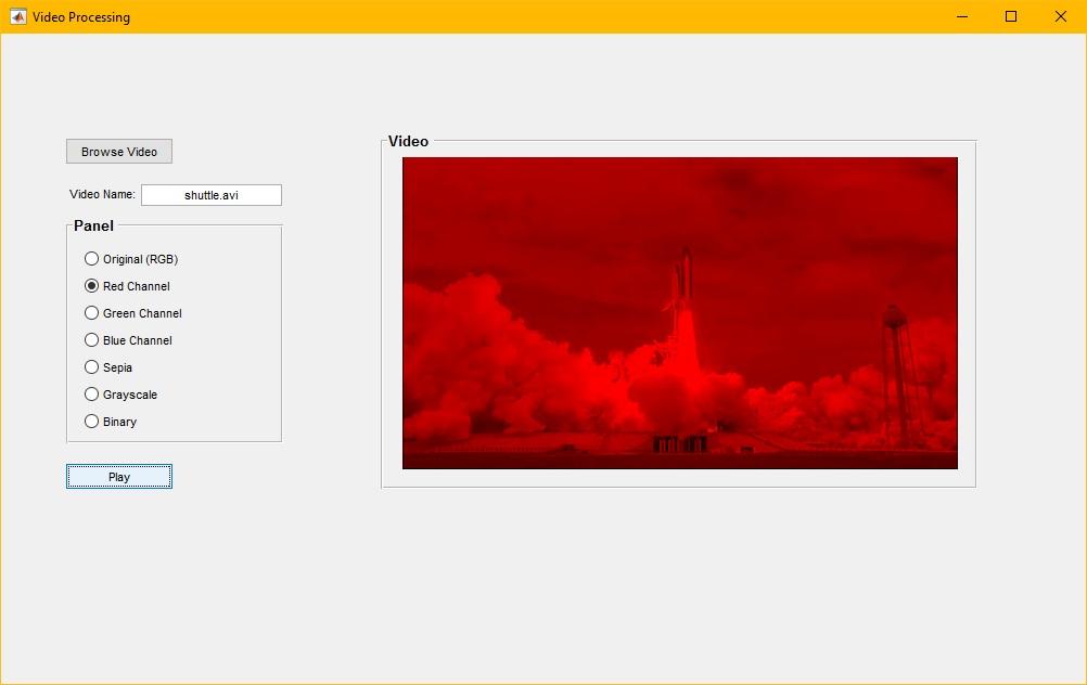 Cara menampilkan video pada GUI Matlab | Pemrograman Matlab