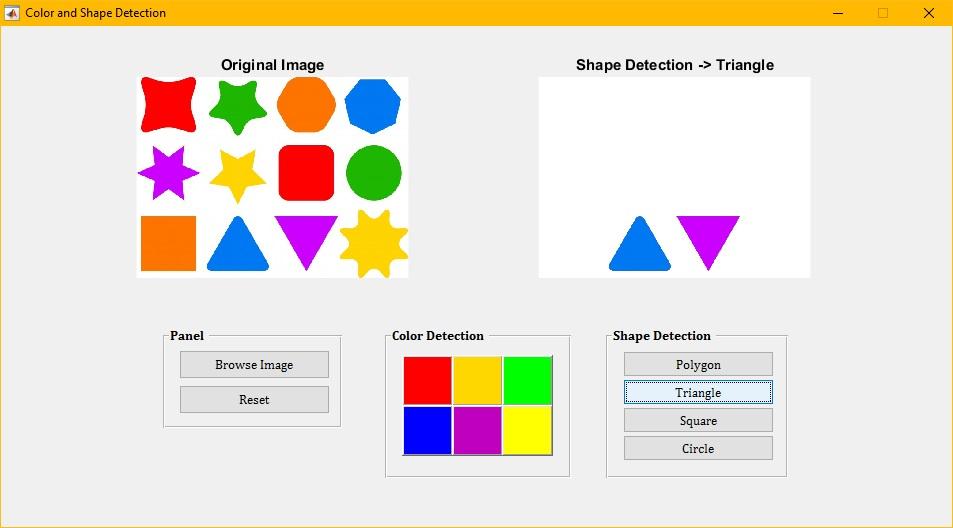 Pengolahan Citra Digital Untuk Mendeteksi Warna Dan Bentuk Obyek Pemrograman Matlab